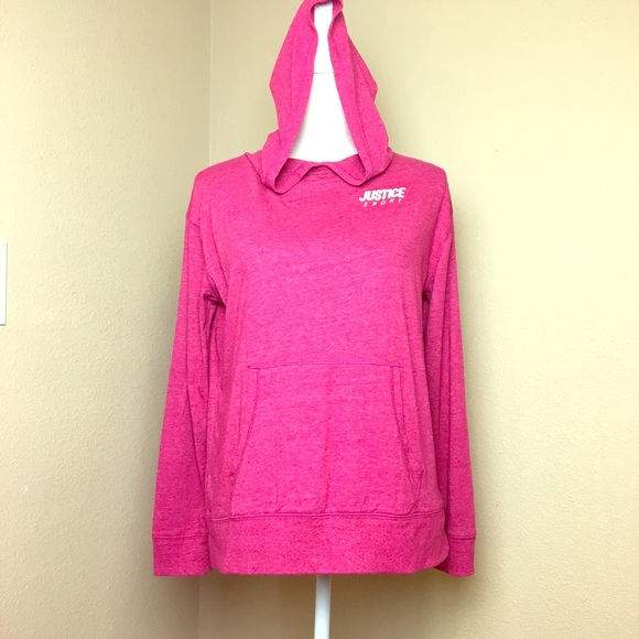 Justice Other - Justice Active Hooded Top, Size 18/20